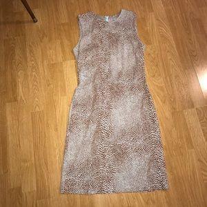 J McLaughlin animal print Catalina cloth dress s